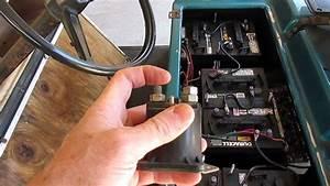 Club Car Electric Golf Car Speed Control Relays