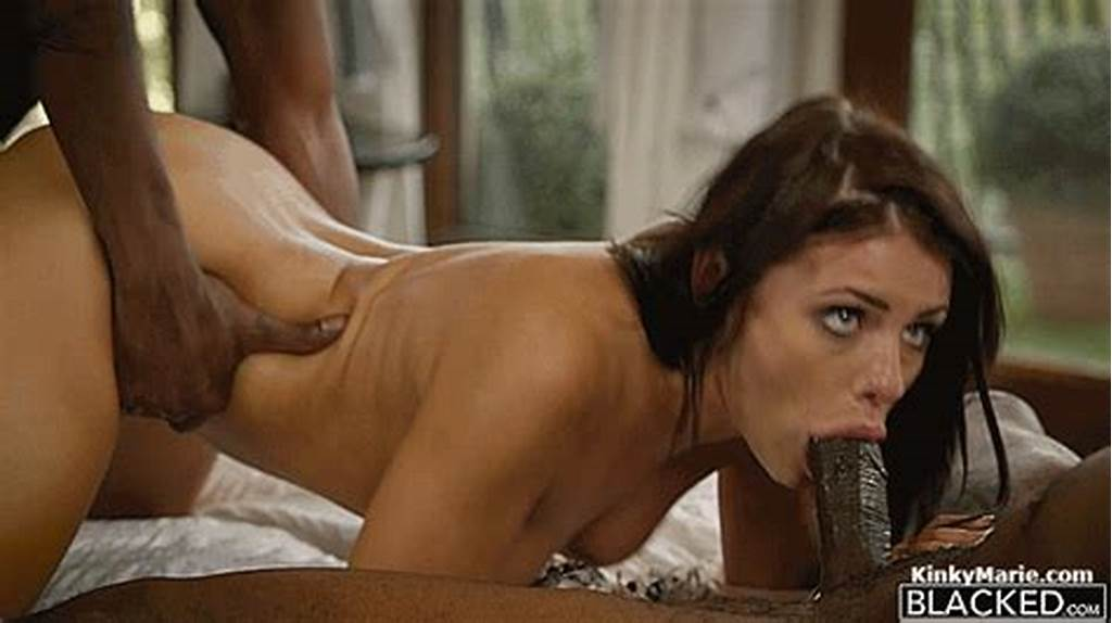 #Adriana #Chechik #Brunette #Babe #Takes #Trio #Of #Bbcs