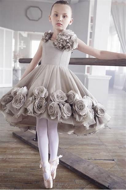 Dresses Ballerina Flower Wear Short Prom Floor