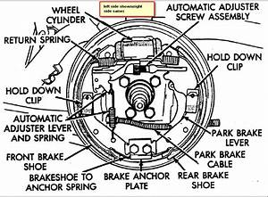 Where Can I Find A Detailed Diagram For The Rear Brakes On A 2006 Pt Cruiser
