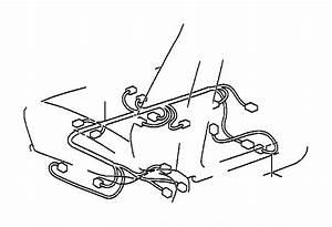 Lexus Lx 470 Wire  Seat  No  1  Clamp  Bracket  Engine