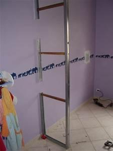Comment Faire Un Placard Mural : monter cloison placard mural tableau isolant thermique ~ Dallasstarsshop.com Idées de Décoration