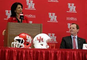 Houston to 'review and evaluate' football program, says ...