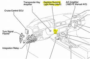 I Have A Toyota Camry 2007 And I Suspect The Drl Relay Is
