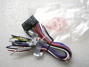 Dual Wire Harness Xdvd276bt  Xdvd296bt  Xdvd269bt
