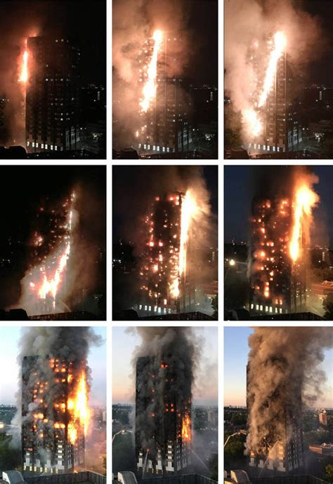 Firefighters battle an east london tower block fire. London fire cause: What we know so far about Grenfell ...