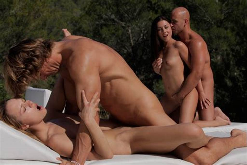 #Two #Couples #Fucking #Hard #At #The #Pool