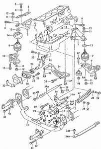 2001 Volkswagen Passat 1 8l Turbo Securing Parts For Engine