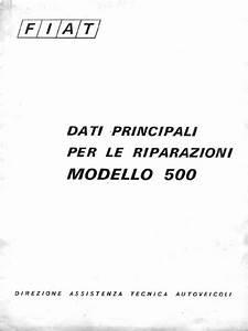 Fiat 500 Manuale D U0026 39 Officina