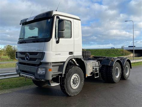 A hummer h1 ain't got nothing on this. Mercedes-Benz ACTROS 3341 AS 6x6 3600 Tractor Head, 2020, BIG 2 BIG Machinery B.V. (Drielse weg ...