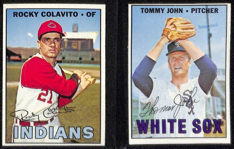 But, with this starter kit, you're ready to complete your end of the bargain. Lot Detail - 1967 High-Grade Baseball Card Near Complete Set - Missing Only 5 Cards - w. Mays ...