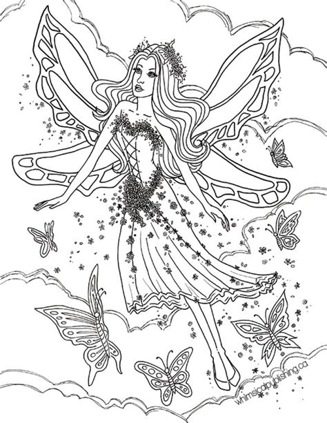 Get This Printable Fairy Coloring Pages Online 72656