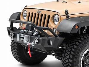 Barricade Jeep Wrangler Extreme Hd Front Bumper  U0026 9 500 Lb