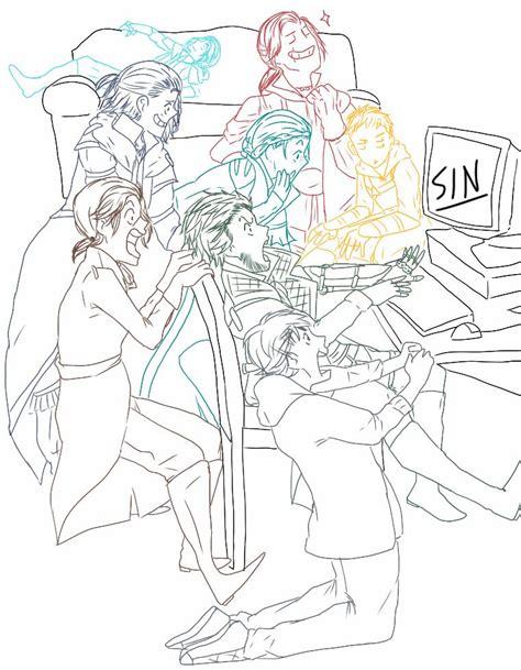 Draw your squad #7 by MinhTsukino on DeviantArt