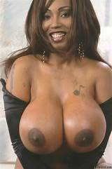 Ebony big breast video