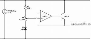 Voltage Regulator - Dropping 12v To 7 4v