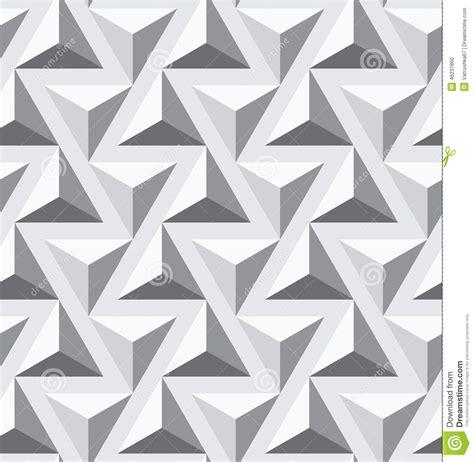 Seamless Geometric Opt Triangle Texture Stock Vector