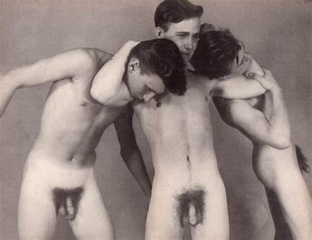 Nude Vintage Teen Boys
