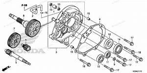 Honda Scooter 2015 Oem Parts Diagram For Transmission