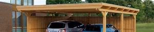Construire Un Carport : plans de carports et abris voiture guide de construction ~ Premium-room.com Idées de Décoration