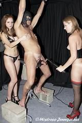 Milf cane bondage femdom