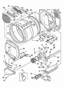 Wiring Diagram Database  Kenmore Elite Dryer Parts Diagram