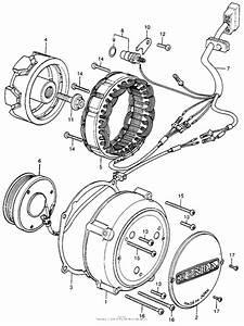 Alternator For 1977 Honda Cb400