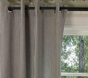 Vorhang Schwarz Weiß Gestreift : vorhang pamela schwarz gestreift 120x240 cm 2 st ck ~ Watch28wear.com Haus und Dekorationen
