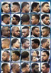 Black Men Haircuts Chart Haircut Chart For Barber Shops Men Haircut Styles Black