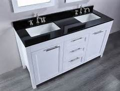 Double Sink Vanity Tops For Bathrooms by Architecture Bathroom Corner Cabinets Black Bathroom Vanity With White Sink A