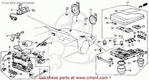 9ee92 89 Honda Accord Fuse Box