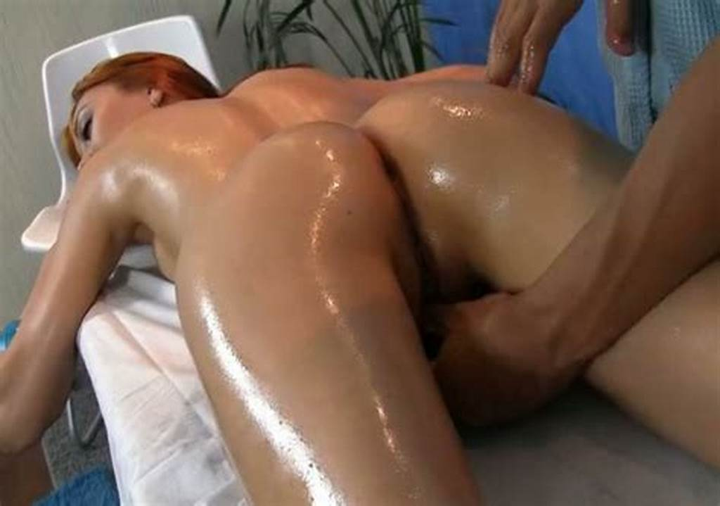 #Passionate #Oily #Pussy #Massage #Makes #Redhead #Girl #Squirt