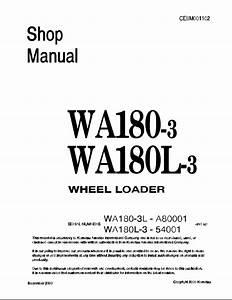Komatsu Wheel Loader Wa180