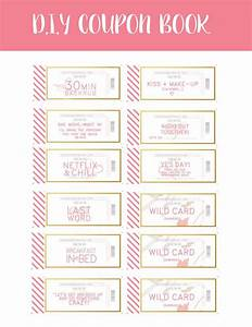 love coupons instant download by penandstock on etsy With coupon book for husband template