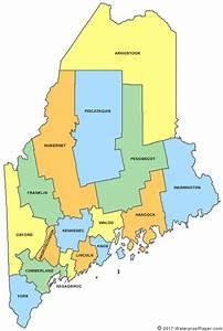 Printable Maine Maps