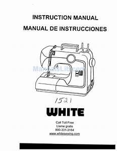White 1521 Instruction Manual Pdf Download