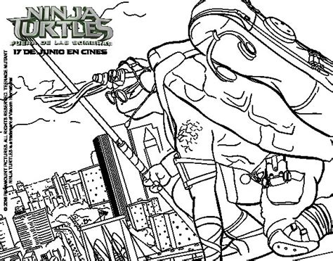 Disegno di Donatello Ninja Turtles da Colorare Acolore com