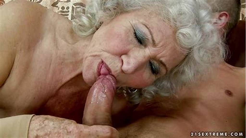 #Horny #Granny #Gobbles #Down #On #This #Tasty #Fuck #Stick