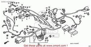 Honda Cbr250rr Mc22 1992  N  Japan Wire Harness