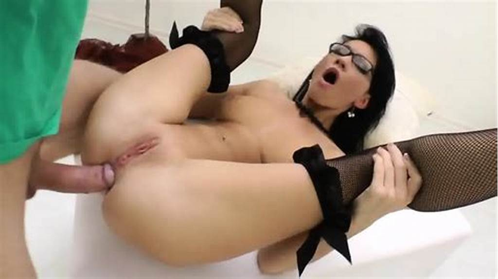 #Cum #On #Glasses #After #Anal #Action