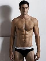 Hot hairy male models