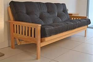 Three seater futon sofa bed okaycreationsnet for Wow sofa bed