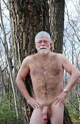 Nude hairy old men