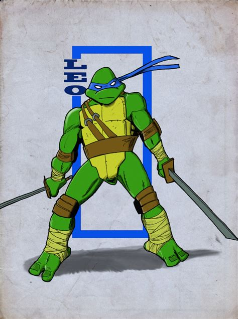 TMNT Leonardo by KevWeldon on DeviantArt