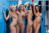 Nude woman locker room pics