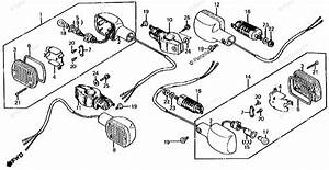Honda Motorcycle 1985 Oem Parts Diagram For Turn Signal
