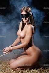 Beautiful nude women in bondage