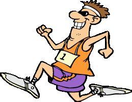 Zona pergantian pada lari estafet hanya berada 10 meter di depan garis start atau berada 10 meter di belakang garis start. Gambar Lomba Lari Animasi - Ada Lomba