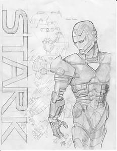 Iron Man And Technical Diagram By Gurglesploit On Deviantart