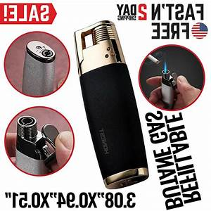 Torch Lighter Cigar Jet Butane Torch Windproof Cigarette